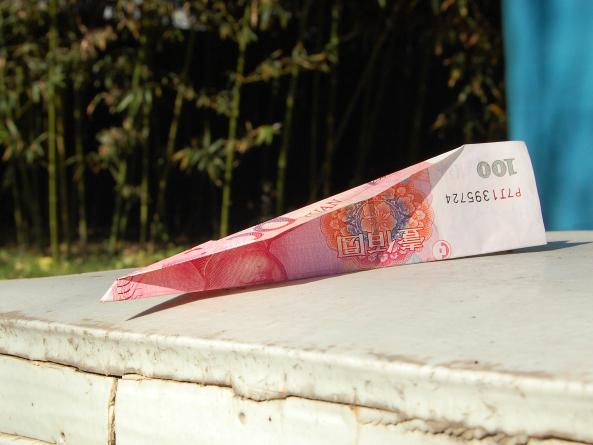 Last week, supporters delivered donations over the wall of Ai's compound in Beijing — 100 yuan notes folded into paper airplanes.