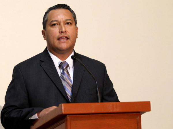 Mexican Interior Secretary Francisco Blake Mora.