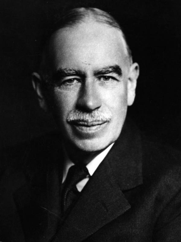 The ideas of John Maynard Keynes, seen here around 1940, had great influence over the economic policies that followed the Great Depression and World War II.