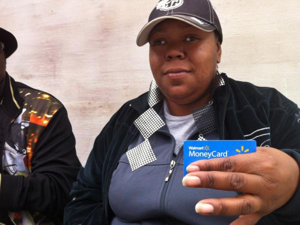 Linda Black of Nashville, Tenn., says she left Bank of America after repeatedly being hit by fees. She now uses the Walmart MoneyCard instead, which has a flat fee of $3 a month.