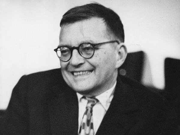 Dmitri Shostakovich, 1960.