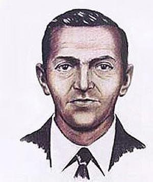 A 1972 F.B.I. composite drawing of D. B. Cooper.