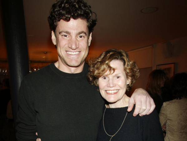 Judy Blume and her son, Lawrence Blume, are working together on a movie version of her novel, <em>Tiger Eyes.</em>