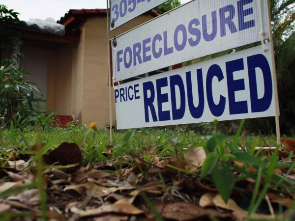 One reason prices have been falling: A glut of foreclosed homes.