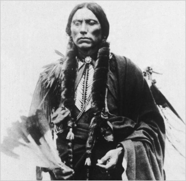 Quanah Parker was the last chief of the Comanches — and the son of Cynthia Ann Parker, who was captured as a child by the Comanches.