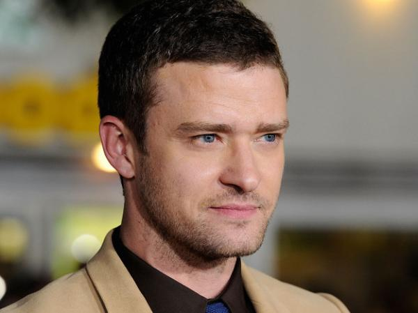 <p>Justin Timberlake arrives at the premiere of <em>In Time</em> on October 20.</p>