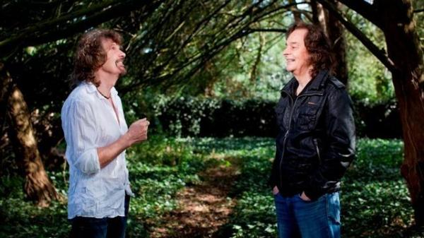 The current lineup of the Zombies features founding members Rod Argent (left) and Colin Blunstone.