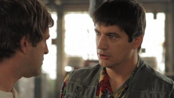 "Mark Duplass and Ken Marino star in the new video ""The First A.D.,"" a video at the successful website Funny Or Die."