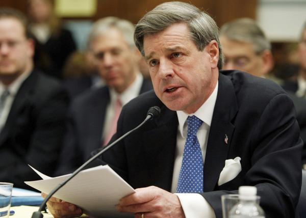 Paul Bremer, former Head of the Coalition Provisional Authority, seen here in 2007, says he believes the U.S. pullout of Iraq is premature and that the country is still very fragile.