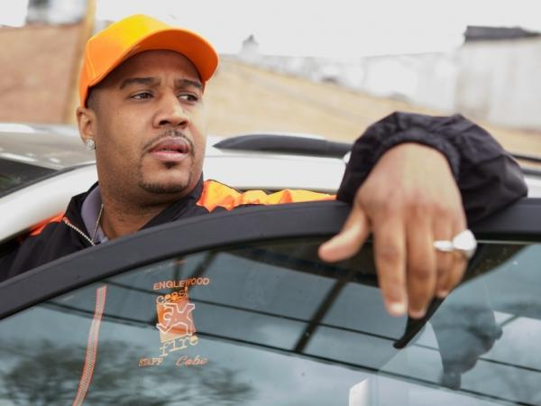 Cobe Williams mediates violence among Chicago gangs in the documentary <em>The Interrupters,</em> directed by Steve James.