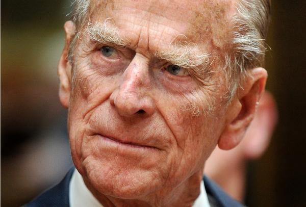(FILES) A file picture taken in June shows Prince Philip, the Duke of Edinburgh, attending a reception at Buckingham Palace.