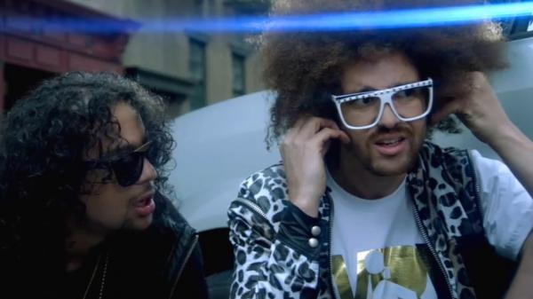 """Party Rock Anthem"" by LMFAO was one of the dozens of pop hits this year to use the same hammering disco beat."