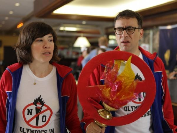 In one episode of <em>Portlandia</em>, Brownstein and Armisen started a grassroots campaign to prevent the Olympics from ever coming to Portland.