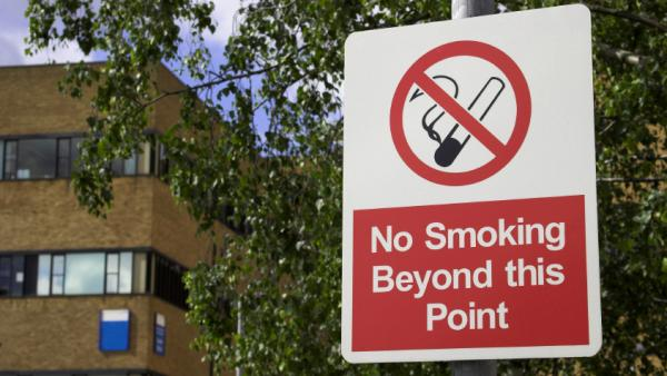 A hospital stay may be the right time to quit smoking.