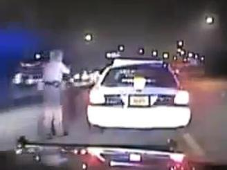 A screenshot of a dash-cam video.