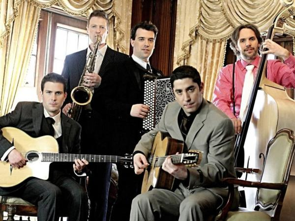Guitarist Evan Perry leads Hot Club of Detroit in two Django Reinhardt classics.