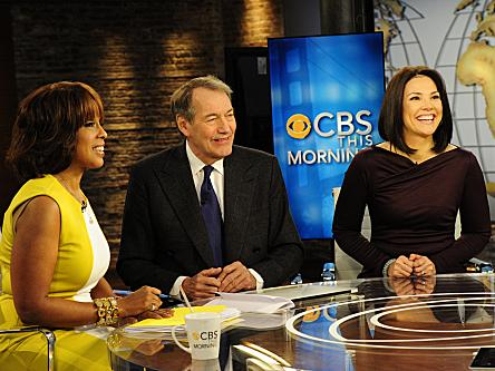 <em>CBS This Morning</em> is co-hosted by Charlie Rose, Gayle King and Erica Hill.