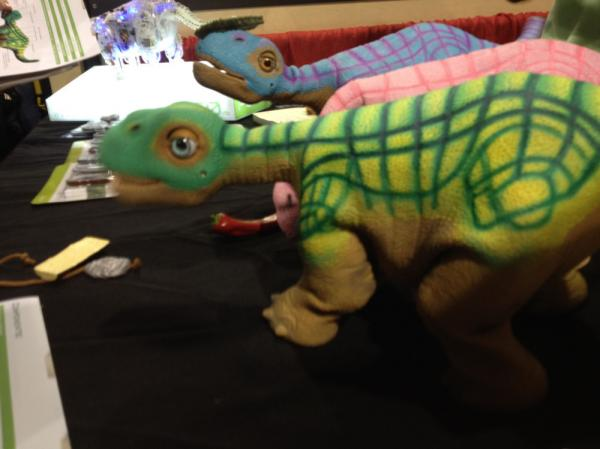 "The Pleao-RB is a $469 plastic dinosaur robot. Its makers say it's like a real pet, but ""without poo-poo and wee-wee."""