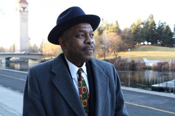 Ivan Bush is a longtime organizer of Spokane's Martin Luther King Day parade. Photo by Jessica Robinson