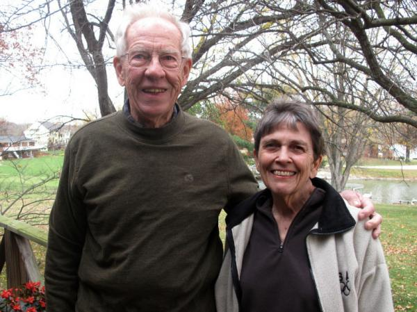 Don and Anne Clodfelter of Jackson County, Ind., don't identify with either party. They know they won't vote for President Obama, but none of the GOP candidates particularly excites them.