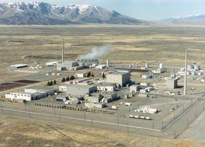 The Test Reactor Area west of Idaho Falls is home to the Advanced Test Reactor. Photo courtesy of INL