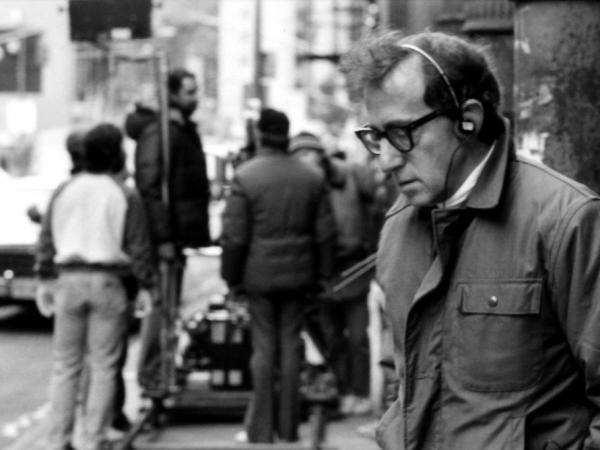 """Making a movie is a great distraction from the real agonies of the world,"" filmmaker Woody Allen told <em>Fresh Air</em> in 2009."