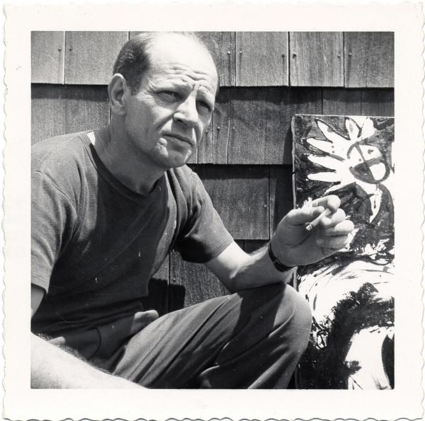 Described as a recluse, Pollock was the subject of an Academy Award-winning film in 2000. He died in 1956 at the age of 44.