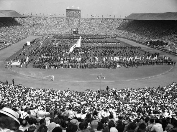 The 1948 London Olympics were held when the city, recovering from World War II, was dotted with rubble from Nazi bombardment.