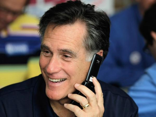 Mitt Romney at his state campaign headquarters Tuesday in Tampa, Fla.