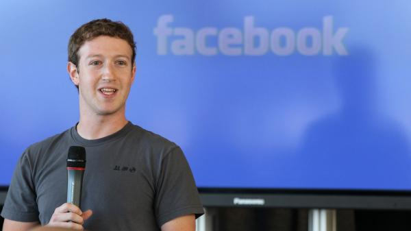 Facebook founder and CEO Mark Zuckerberg speaks during a special event in 2010.