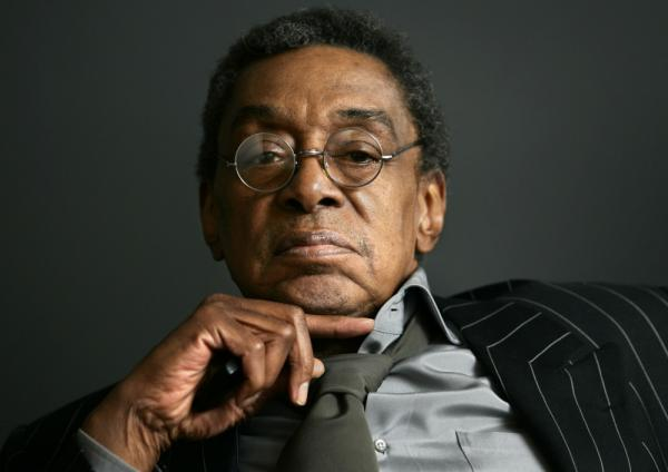 Don Cornelius at his office in Los Angeles in 2006.