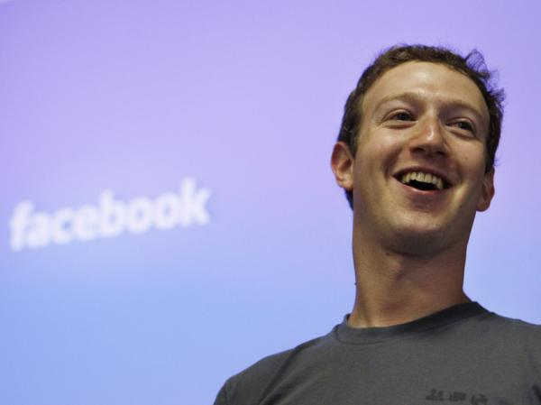 Facebook CEO Mark Zuckerberg in July 2011 at Facebook's former headquarters in Palo Alto, Calif.