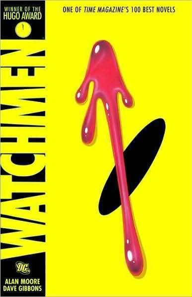 The cover of <em>Watchmen</em>.