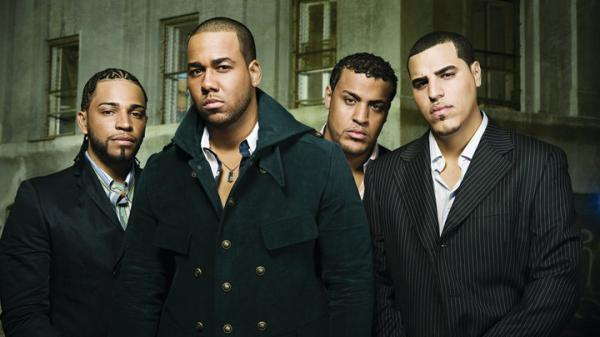 The now-defunct Puerto Rican and Dominican American group Aventura.