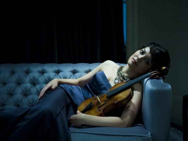 Violinist Anne Akiko Meyers.