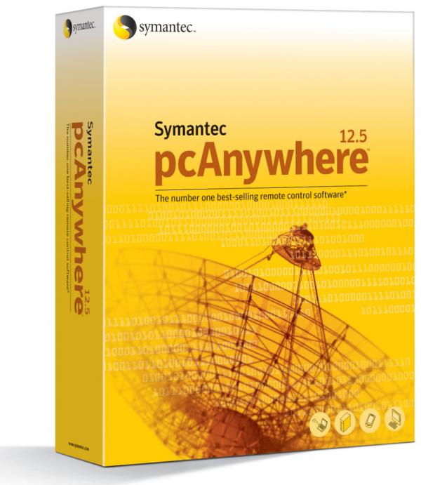 Symantec's pcAnywhere program.