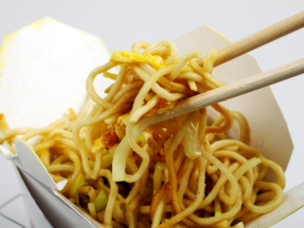 About one-third of diners who were offered a smaller portion of noodles or rice at a Chinese takeout restaurant chose it.