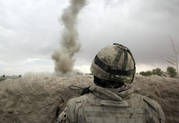 Traumatic brain injuries are most often caused by powerful blasts from improvised explosive devices. A roadside bomb explodes and the concussive effect violently shakes the brain inside the skull.