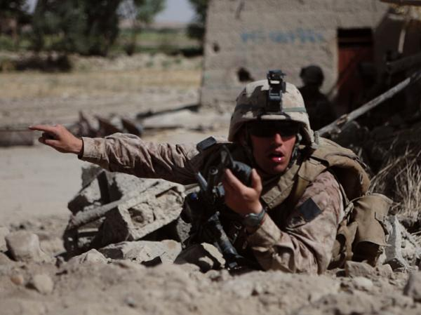 <em>Hell And Back Again </em>focuses on Sgt. Nathan Harris' life at home and on the battlefield.