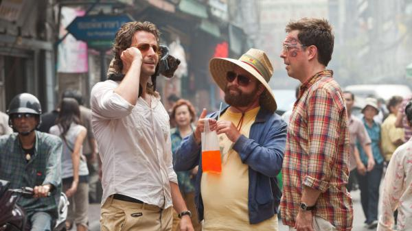 Drinking on screen, even in a cautionary tale like <em>The Hangover Part II, </em>can encourage kids to try drinking, according to new research.