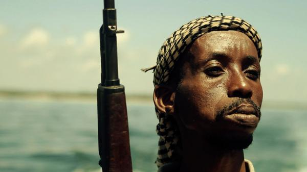 A still from <em>Fishing Without Nets</em>. Writer-director Cutter Hodierene cast Somali refugees and militia fighters in his short film about a fisherman who is drawn by need into piracy.
