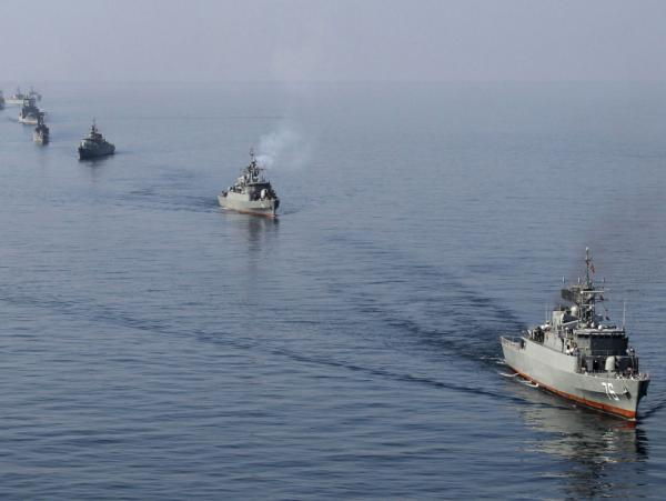 Iranian Navy boats take part in exercises in the Strait of Hormuz on Jan. 3, 2012. Amid the current tension with the West, Iran has threatened to close the strait, a major export route for oil coming from the Middle East.