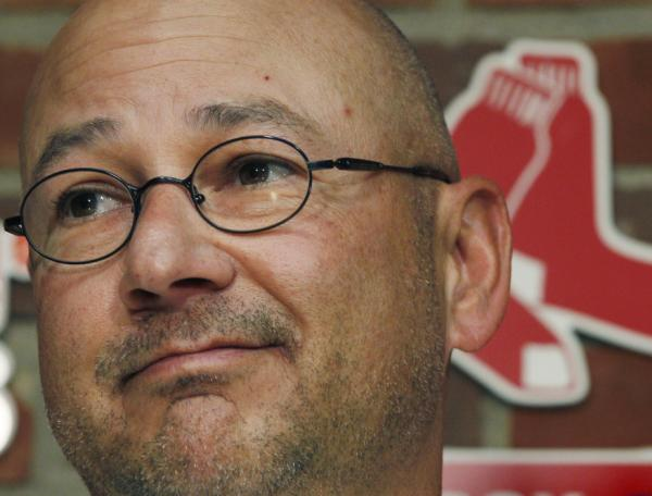Former Boston Red Sox manager Terry Francona.