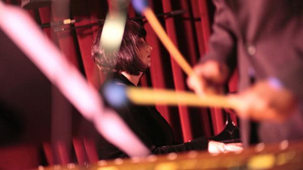 Renee Rosnes performs at the Village Vanguard.