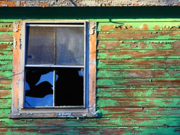 Old windows are a big source of lead contamination.