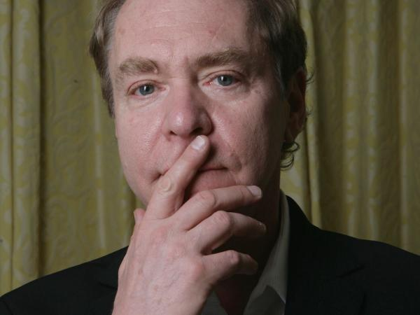Teller, the quiet half of the Penn and Teller magician team, poses Friday, April 13, 2007, at the Four Seasons hotel in Los Angeles.