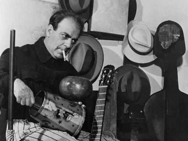 An undated picture taken in Paris of composer and conductor Heitor Villa Lobos.