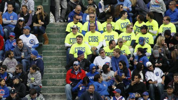 Starting this year, prices for bleacher seats at Wrigley will rise and fall based on demand.