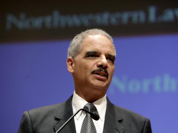 Attorney General Eric Holder discusses the controversial U.S. drone program during a speech at Northwestern Law School in Chicago on Monday.