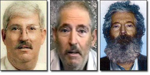 Robert Levinson in an FBI array.